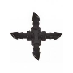 Соединение крестовое для трубки 1/4 AD 7204