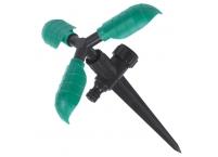 Ороситель 3-х рожковый вращающийся на ножке
